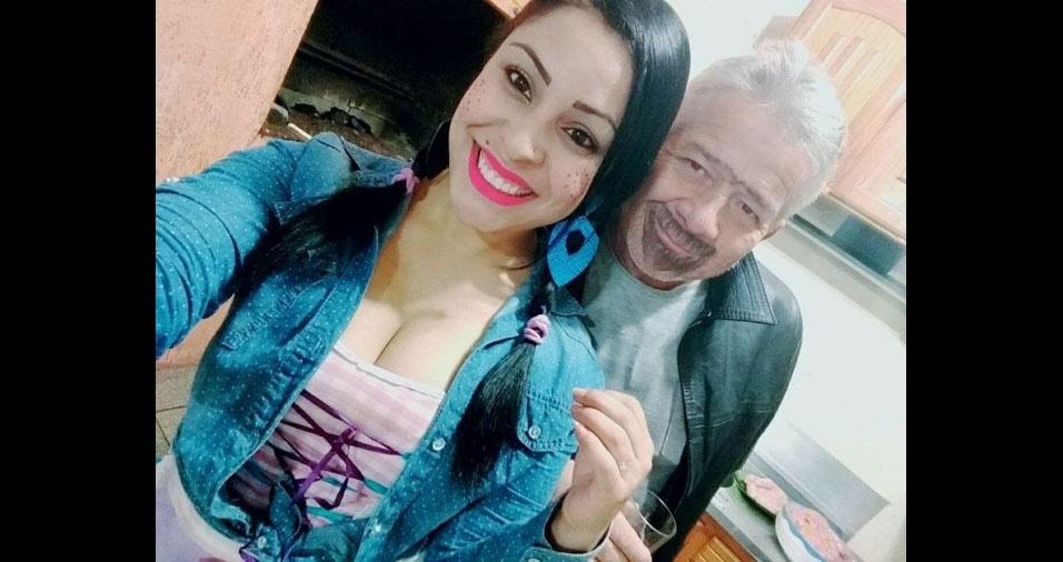 """Tatyane homenageia o pai Luis Carlos, de Erechim (RS): """"Parceirão, amor incondicional!"""""""
