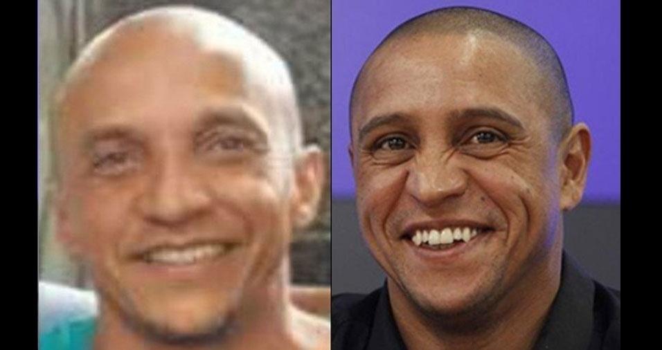 """""""Dizem que sou sósia do jogador Roberto Carlos"""", conta Osvaldo de Souza, de  São Paulo (SP)"""
