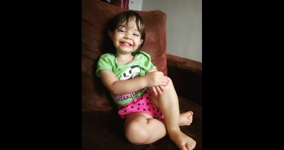 Foto da Valentina Andrade, de um ano e nove meses, filha da Pollianna, de Brasília (DF)