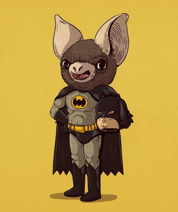 21.out.2015 - Depois de tantos anos é difícil imaginar um Batman sem Bruce Wayne. Mas não deve ser por acaso que o homem-morcego prefere combater os criminosos na calada da noite