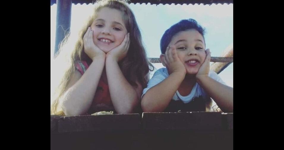 A Luisa e o Lorenzo, de Assis (SP), são filhos de Lucas e Barbara