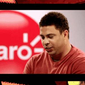 10.jul.2015 - Ronaldo, ex-jogador e participante do time de comentaristas da Globo, é uma das maiores celebridades brasileiras em comerciais - Reprodução