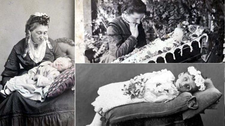 6.jun.2016 - Pais também posavam com os filhos mortos