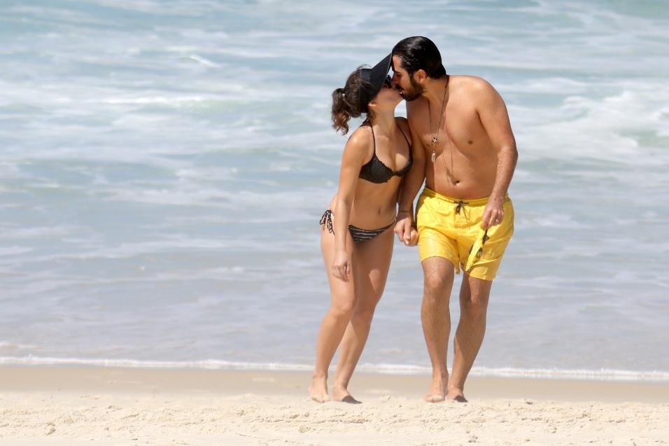 17.mar.2017 - A atriz de 26 anos se casou em 2012 com Pedro Brandão