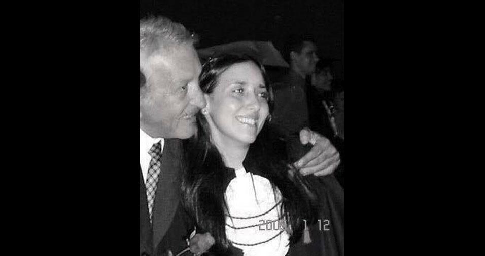 """""""Esse é meu pai, Abramo Lisboa, falecido há 10 anos"""", conta Adriana Lisboa Manzutti, de Bariri (SP)"""