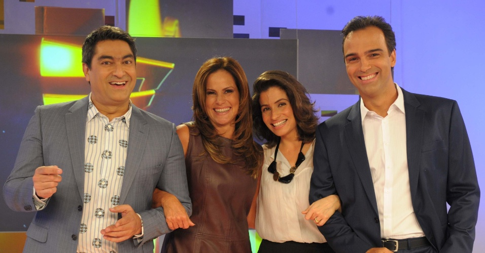 29.set.2013 - Zeca Camargo e Renata Ceribelli deixam o