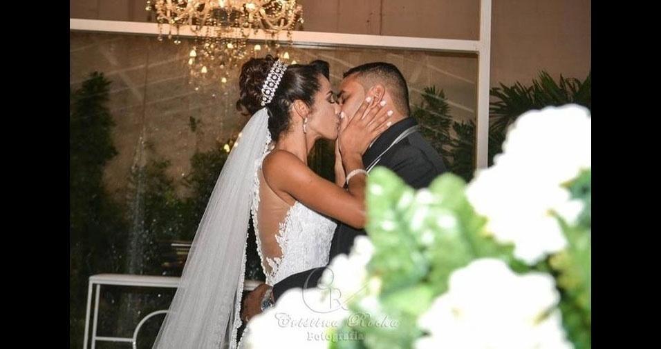 Ronaldo da Silva e Izanira Souza Goulart da Silva se casaram no Rio de Janeiro (RJ), em dia 28 de abril de 2017
