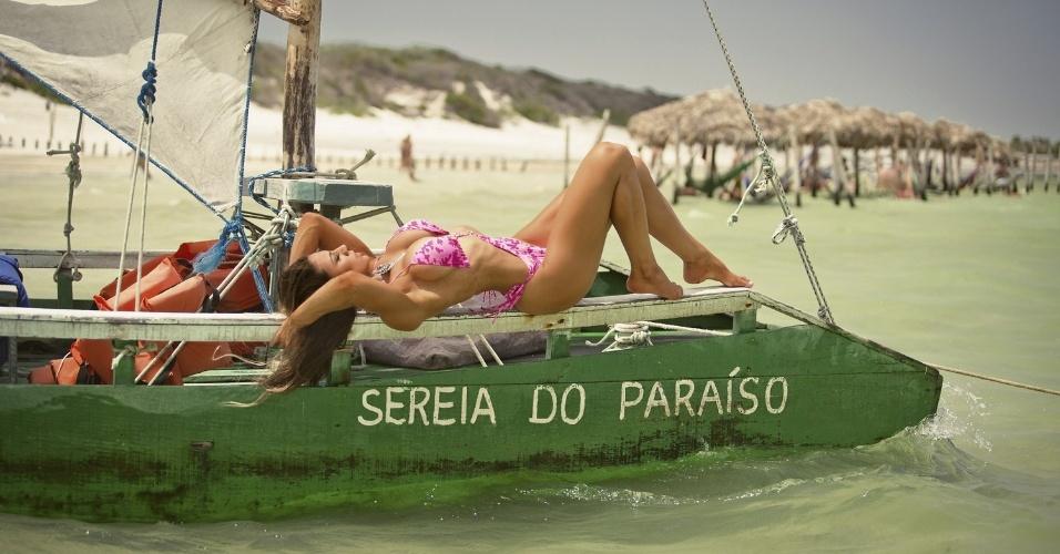 6.dez.2016 - Carol Saraiva atualmente vive em Florianópolis, em Santa Catarina
