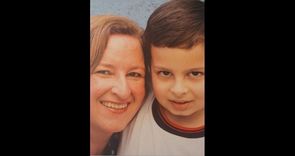 Lucas Benedetti e sua mamãe Deilde