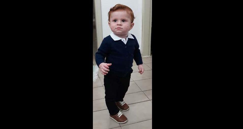 """Martin Rodrigo enviou foto do bebe Isaque, de um ano: """"Ele é a minha vida!"""""""