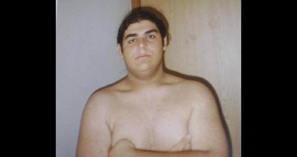 João Felipe, de Campinas (SP), lembra que, em 1996, estava começando a academia, para tentar o sonho de se tornar modelo