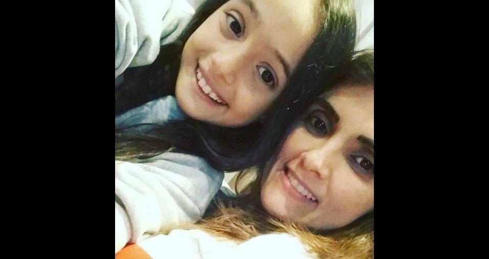 Diana Dias é a mãe da Dudinha, de São Paulo (SP)