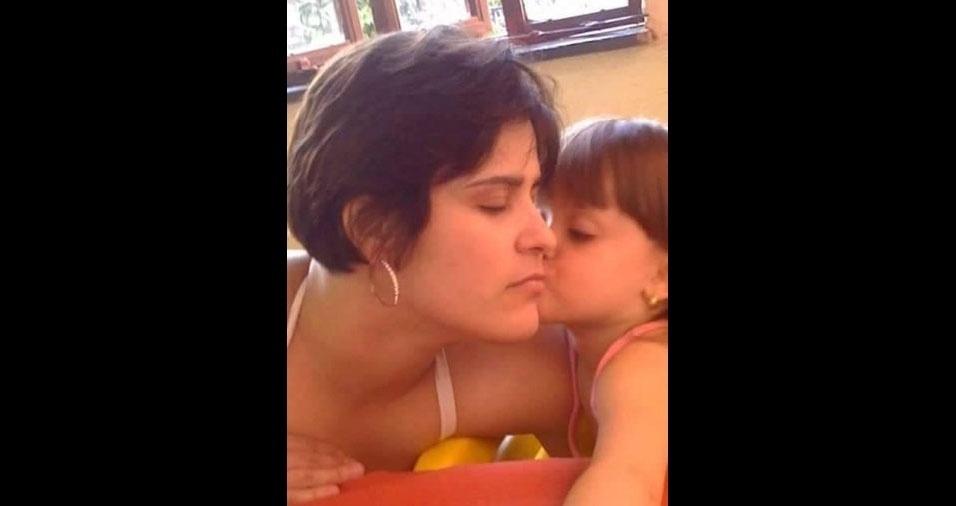 Raquel Pacheco com a filha Izabela, de Belo Horizonte (MG)