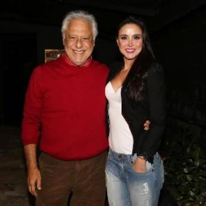 Antonio Fagundes e namorada deixam restaurante sem comer - AgNews