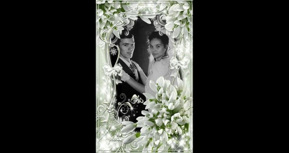 Em  11 de maio de 1996, Rosiane e Claudemir, de Indaiatuba (SP), estavam se casando