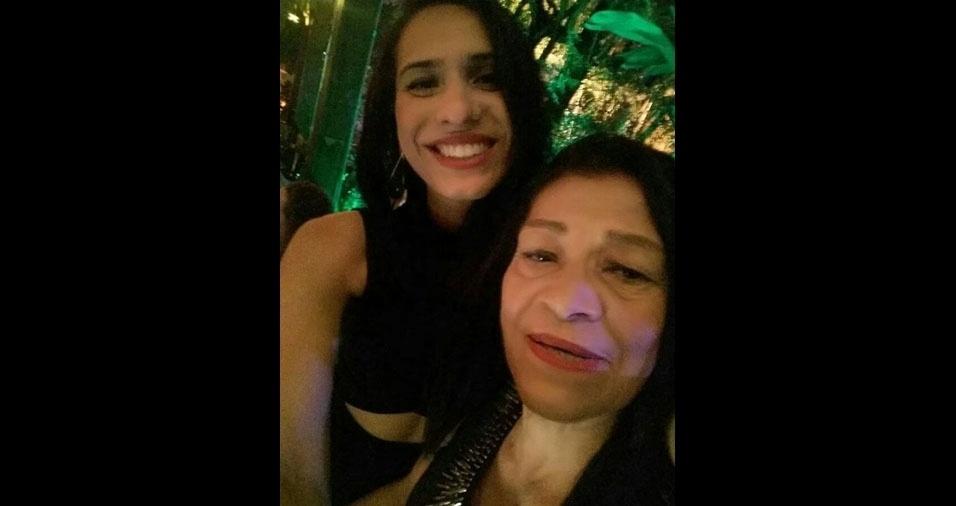 Maquelle Andressa de Barros Lima com a mãe Marileide Maria de Barros Lima, de Santo André (SP)
