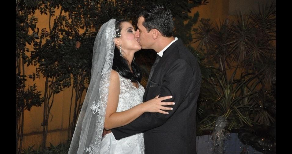 Ailton Duarte e Silmara Lopes  casaram-se em Goiânia (GO), no dia 26 de novembro de 2010