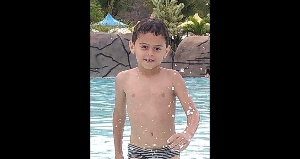 O Joaquim, de cinco anos, mora em Ipatinga (MG)