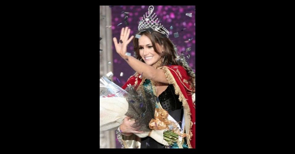 13. Priscila Machado - Em 2011 a Miss Rio Grande do Sul foi chegou ao 3º lugar do Miss Universo