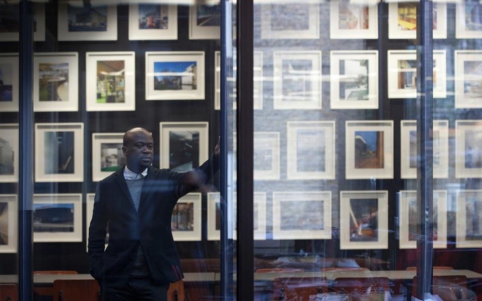 Categoria Ícones: David Adjaye, arquiteto tanzaniano, radicado no Reino Unido
