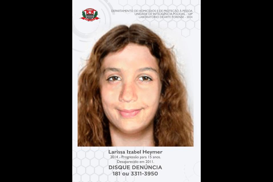 14.mai.2017 - Imagens compartilhadas no Twitter do Corinthians são projeções feitas pela Polícia Civil de São Paulo, simulando as feições atuais de pessoas desaparecidas, com base em fotos antigas