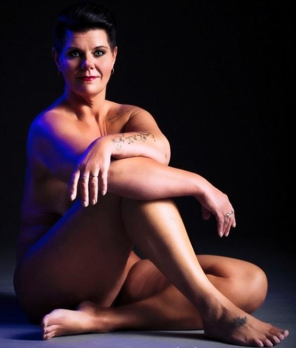 23.nov.2015 - Heidi, de 44 anos, é uma das assinantes de um site de encontro da Dinamarca. A página reúne mulheres que estão à procura de homens maduros e ricos