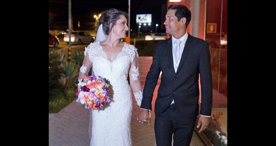 Thays Cristina da Silva e Robson Vieira da Silva, de  Londrina (PR), em 15/12/2017