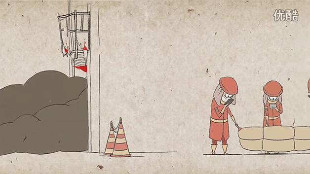 4.nov.2015 - Uma animação do canal Min Alxe, do YouTube, mostra de forma sarcástica como estamos cada vez mais conectados com os smartphones e cada vez mais desligados do mundo real