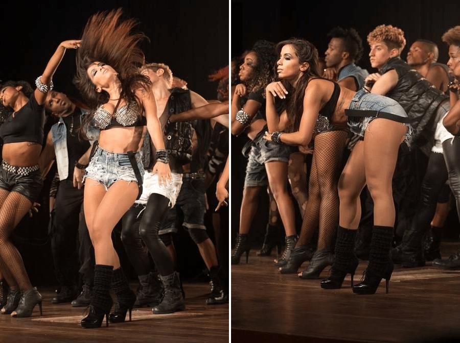 """2013 - Com contrato fechado com a gravadora Warner, Anitta não escondia que queria se tornar uma diva pop. """"Já me espelho na Ivete Sangalo, mesmo sem largar o funk"""""""