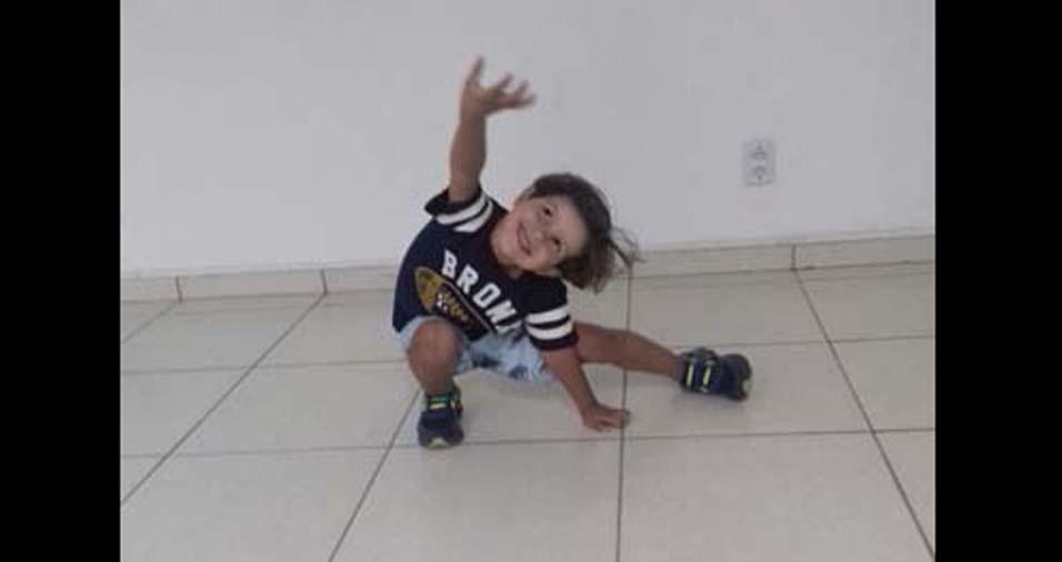 Maria Irene, de Timon (MA), enviou foto do filho Vitor