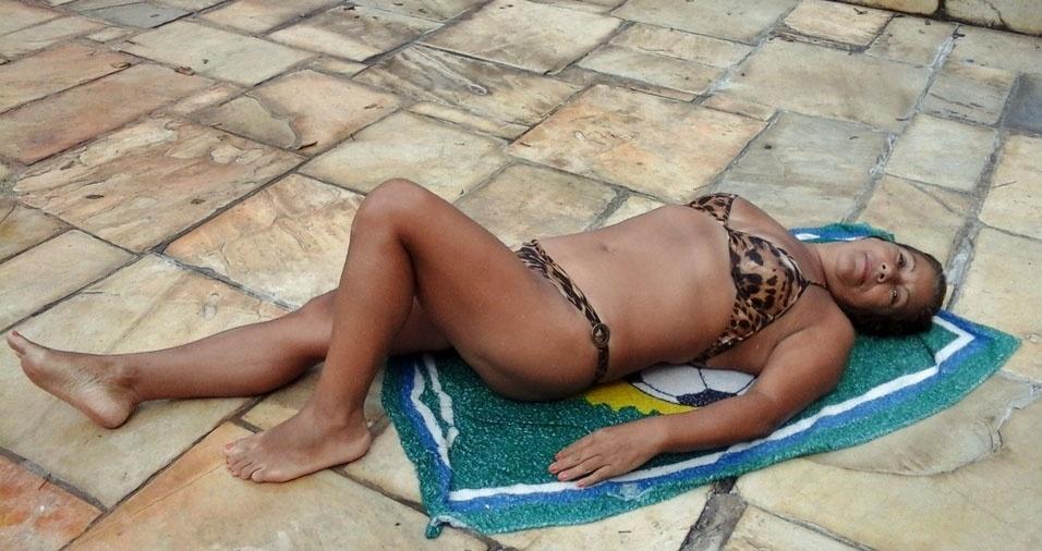 Maria Penha da Silva, 56 anos, de São Paulo (SP)