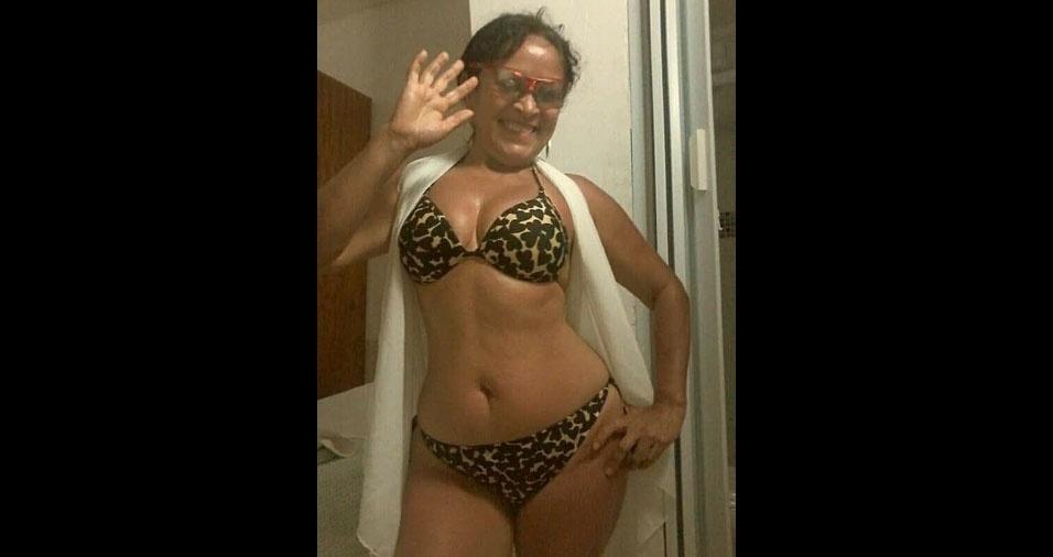 Mari Santos, 50 anos, de Rio Grande da Serra (SP)
