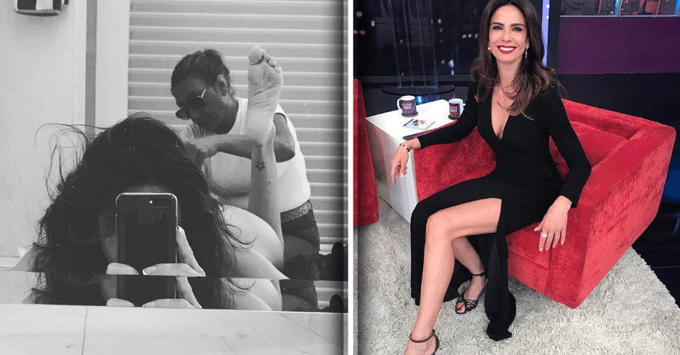 13.mar.2017 - Selfie durante sessão de depilação íntima é alvo de críticas no Instagram da apresentadora Luciana Gimenez. Alguns seguidores acharam que a apresentadora exagerou