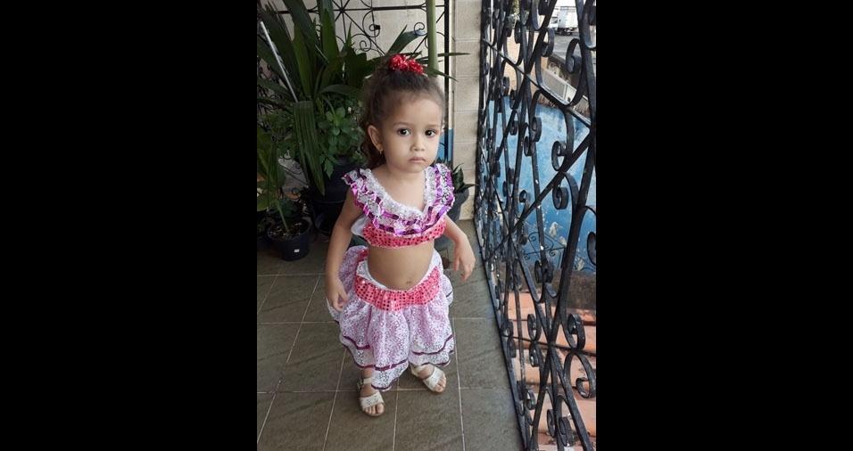 Maria é filha do Waldir Ribeiro Soares Junior, de Salvador (BA)