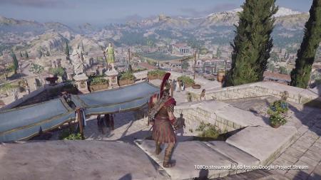 """Com """"Assassin's Creed Odyssey"""", Google testa serviço de streaming de jogos"""