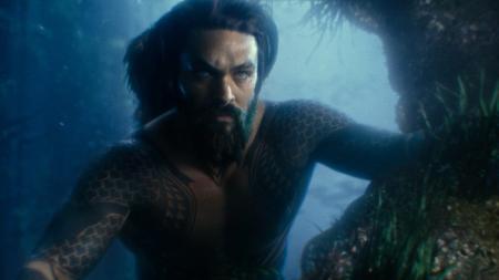 Aquaman em Liga da Justiça.