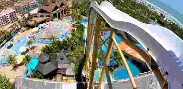 10. O Insano é uma das atrações do Beach Park, em Aquiraz (CE) - Reprodução/Today.com - Reprodução/Today.com