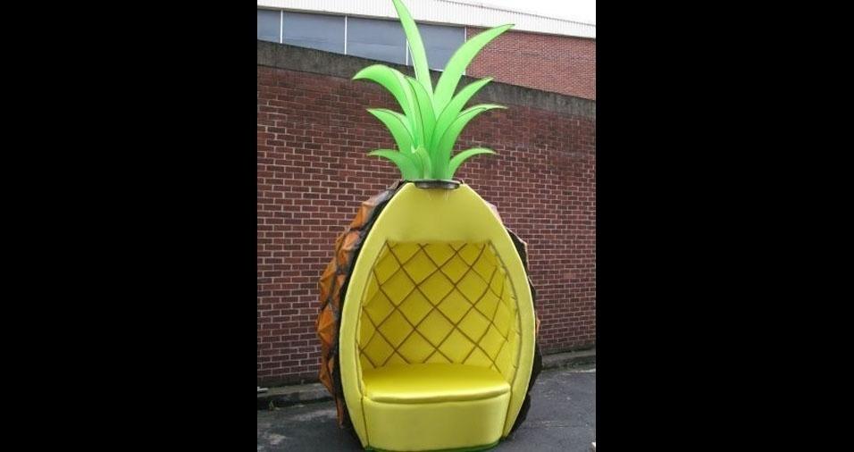 28. Trono do abacaxi