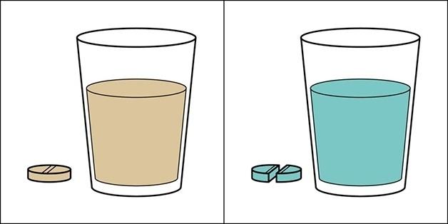 3.nov.2015 - Ingerir o comprimido inteiro ou cortá-lo pela metade para ficar mais fácil?