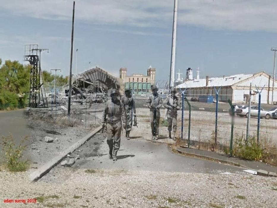 24.nov.2015 - Disputada por ingleses e franceses, a região de Cherburgo, na França, virou porto militar na década de 40