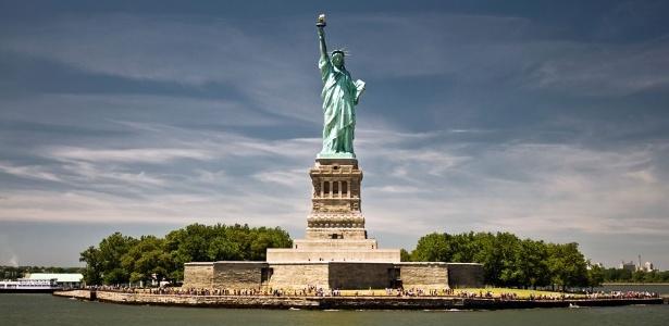 A estátua da Liberdade foi um presente da França para os Estados Unidos - Reprodução/travell5758