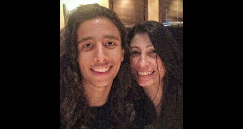 Leo com a mãe Suzana, de São Paulo (SP)