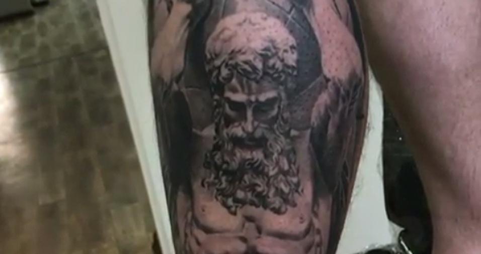 8. Os traços do tatuador não cansam de impressionar os seguidores
