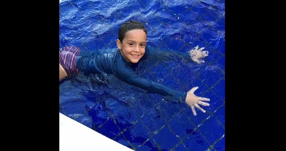 Claudia, de João Pessoa (PB), enviou foto do filho Henrique, de cinco anos