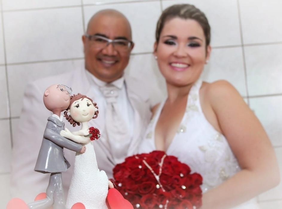 Juliana Fusco e Uelinton Valerio, de São Paulo (SP), em 12 de abril de 2014