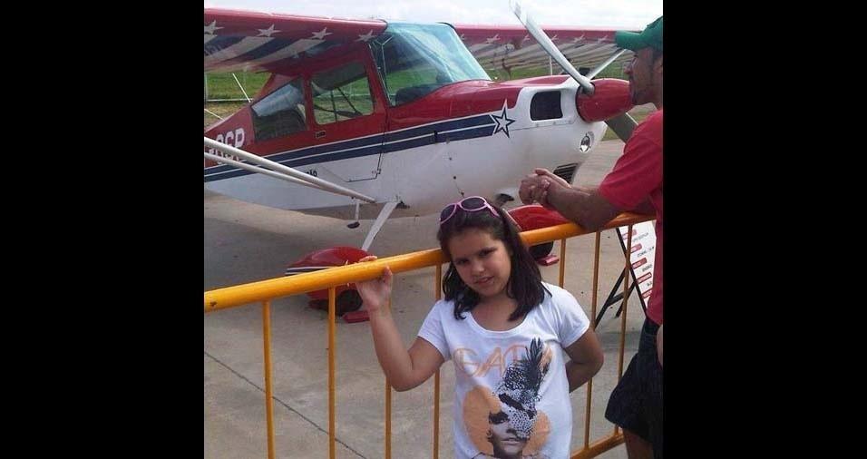 Andrea, de São Paulo (SP), enviou foto da filha Pietra