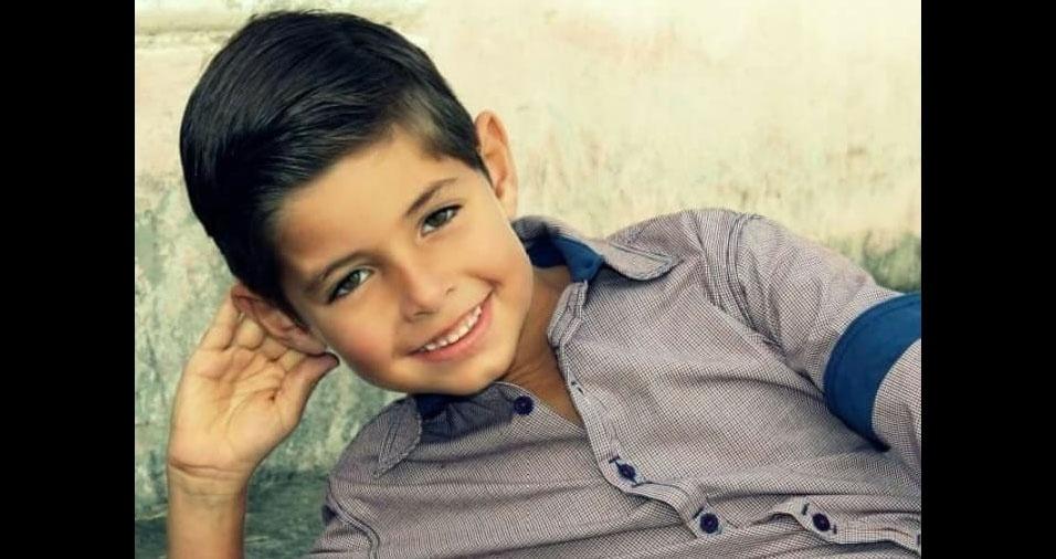 Nicolas Barnabé, que mora em Itapema (SC), é filho da Elenice Evaristo