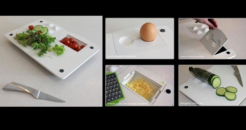 2. Com dispenser para diferentes alimentos
