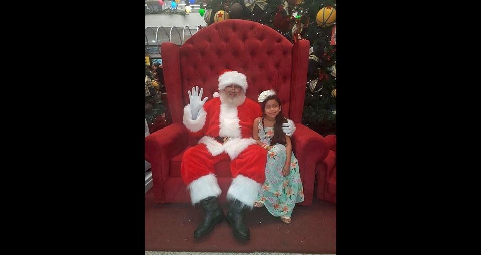 Edinaldo Helmer e Raquel Silva, Manaus (AM), enviaram foto da filha Alice Helmer