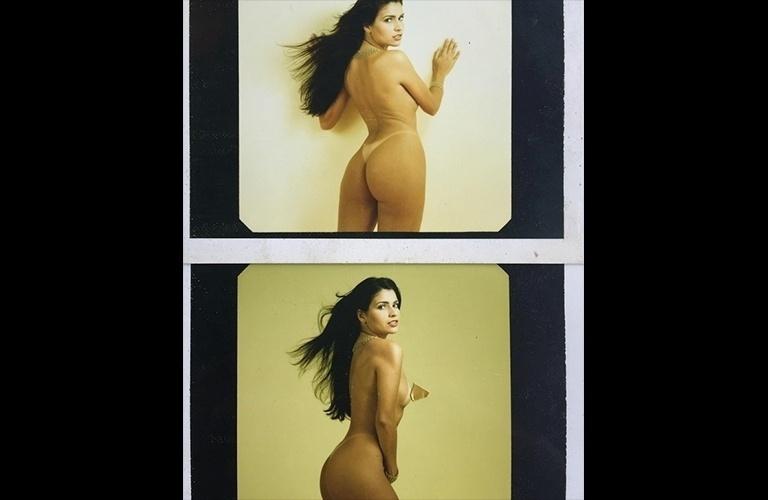 """6.mai.2016 - Olha o nude! Em seu Instagram, Solange Gomes publicou uma foto onde aparece totalmente nua durante um ensaio para a Playboy - a beldade foi capa da revista em novembro de 1996, quando tinha 21 anos, e aproveitou para matar a saudade. Mas se engana quem pensa que Solange só quis registrar o momento: ela aproveitou para alfinetar a publicação. """"Essa opção aí (foto acima) não foi aceita pela direção da revista, pois eles alegaram que eu não estava com cara de tesão. Fizemos na semana seguinte a versão que foi para as bancas"""". """"Prefiro hoje"""", comentou um internauta. """"Queremos você novamente na Playboy"""", pediu outro. E aí, você acha que essa pose ficou ruim?"""